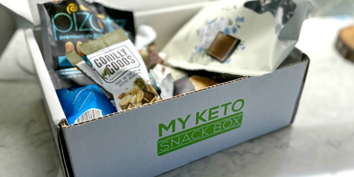 Get Keto Snacks Delivered to Your Door with This My Keto Snack Box Deal