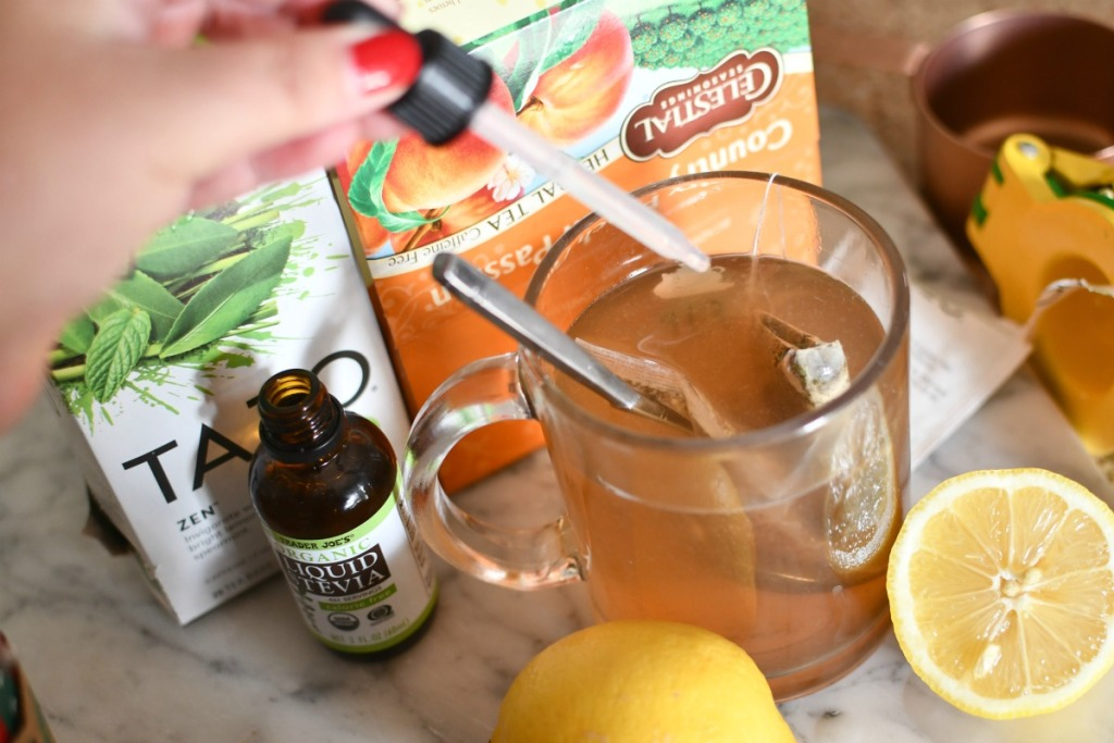 adding stevia to medicine ball tea