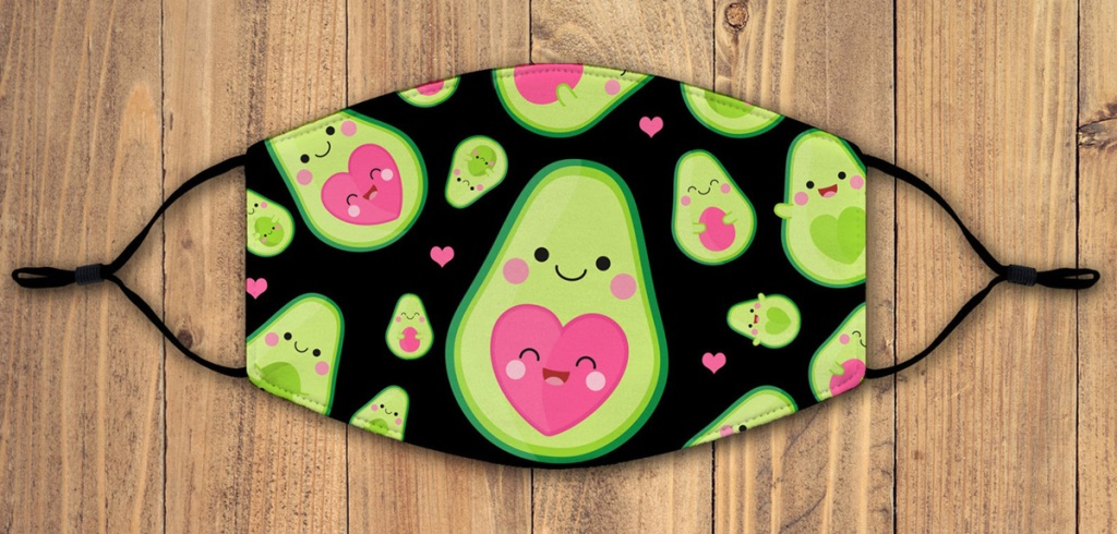 keto valentine's day gifts avocado face mask