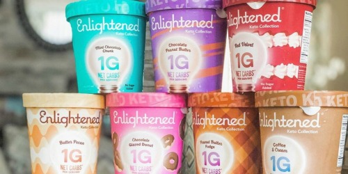 High Value $2/1 Enlightened Ice Cream Printable Coupon (Our Fave Keto Ice Cream!)