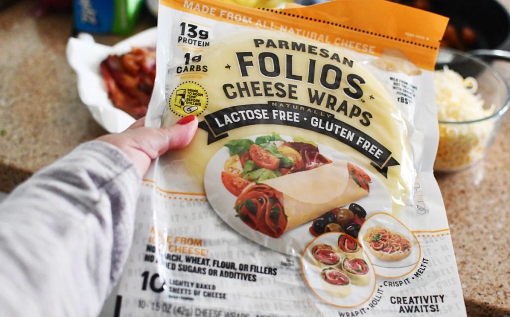 folios cheese wraps