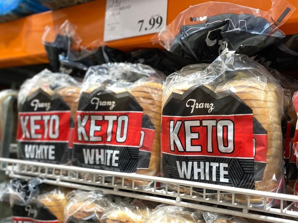 Keto white bread at Costco