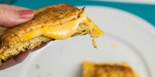 Keto Grilled Cheese Sandwich