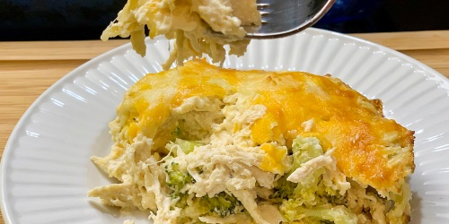Low-Carb Chicken & Broccoli Casserole – Cheesy, Creamy and Keto-Dreamy!