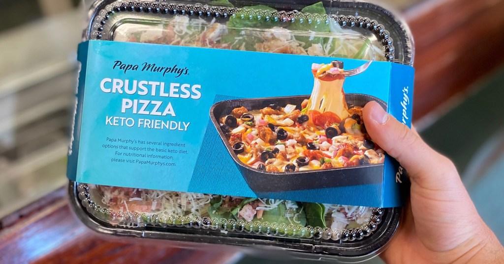 papa murphy's crustless pizza