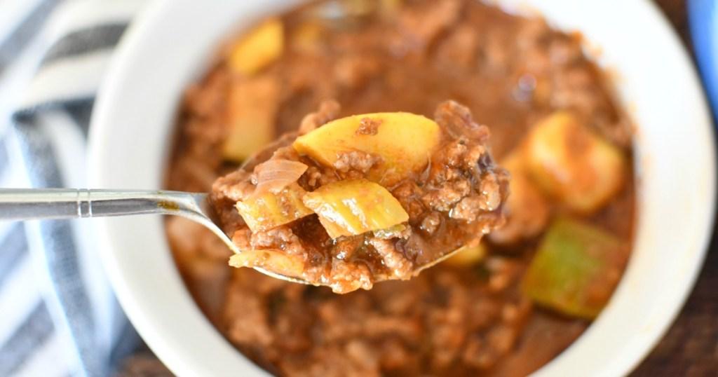 spoonful of keto goulash