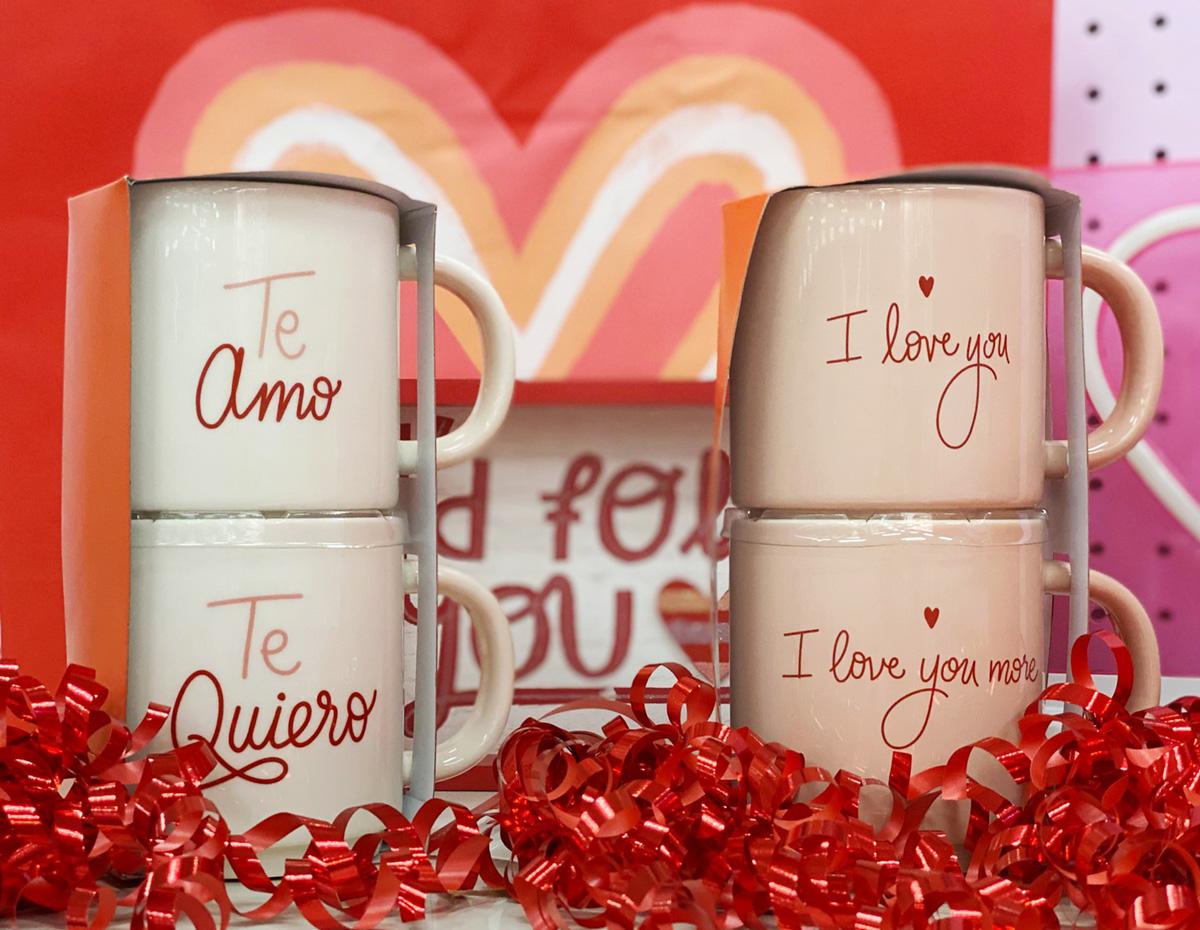 valentine mugs at Target