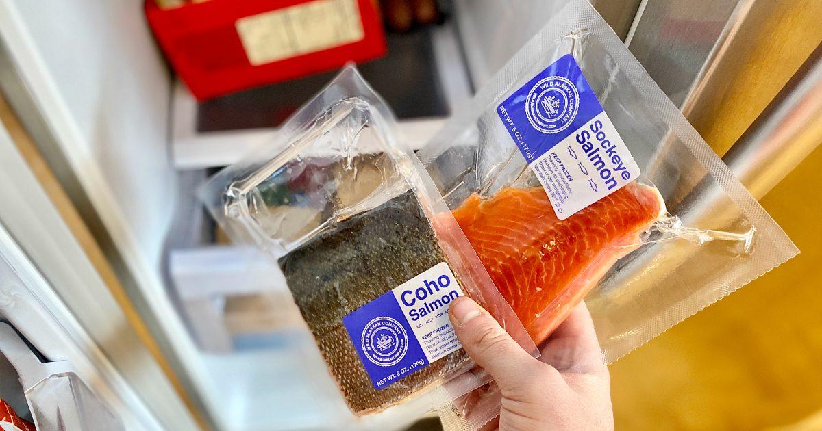 Coho Salmon and Sockeye Salmon