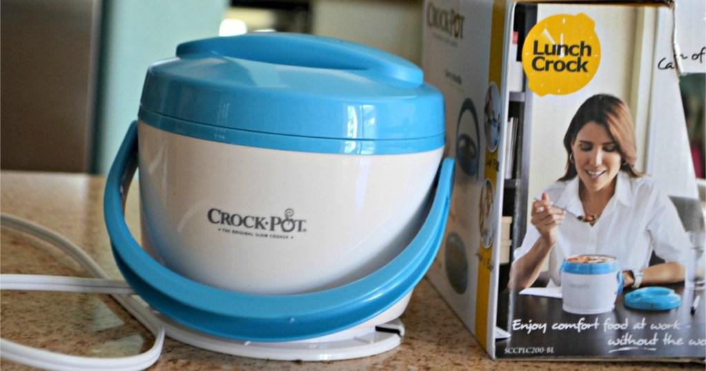 crock pot lunch crock on counter