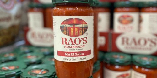 Costco's Got the Lowest Price on Rao's Marinara Sauce – It's Keto-Friendly w/ No Added Sugar!