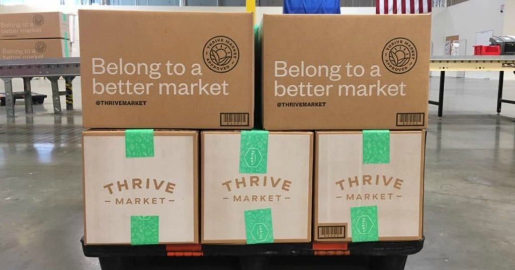 Thrive market boxes