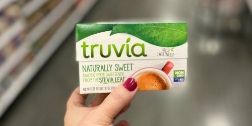 FREE Truvia Sweetener After Cash Back at Target | It's Keto-Approved & Sweetened with Stevia