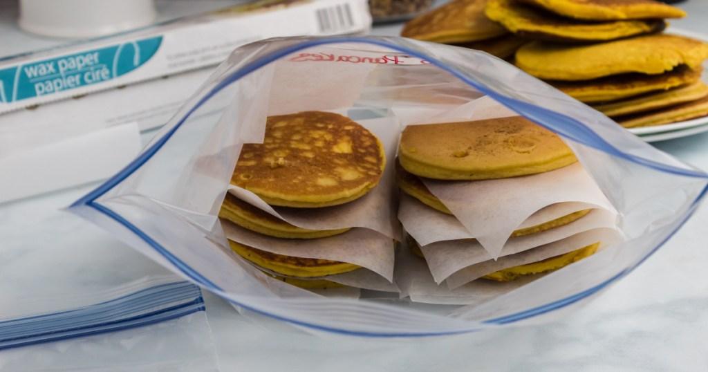 freezing keto pancakes