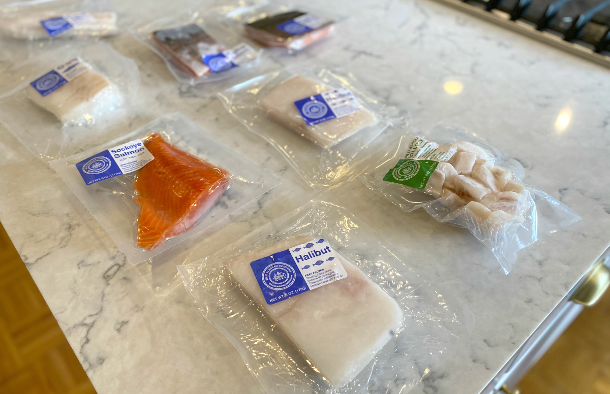 Wild Alaskan fish packages