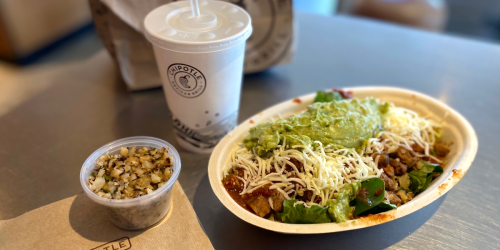 """The World's Greatest Cauliflower Rice!"" is Now Available at Chipotle"