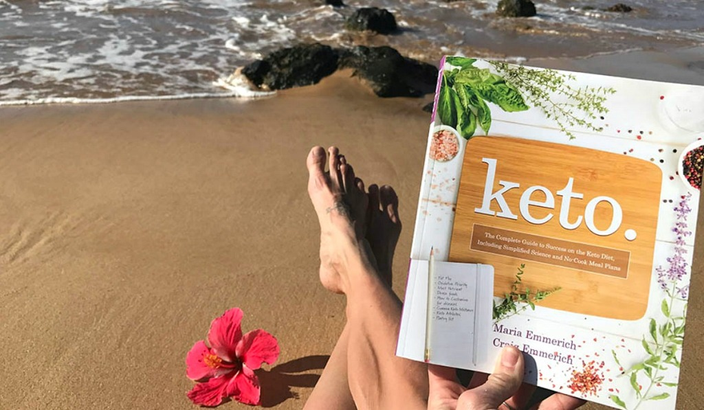 keto cookbook by Maria Emmerich