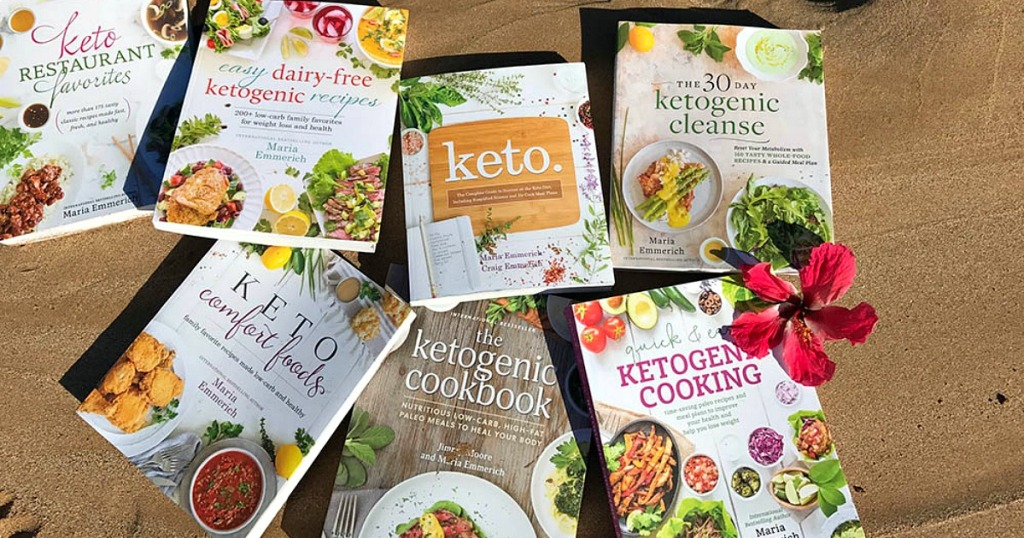 keto cookbooks by Maria Emmerich