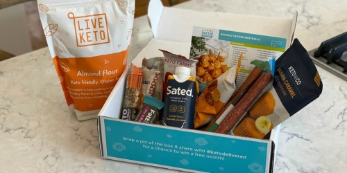 Order Your First Keto Delivered Food Box AND Save w/ Our Exclusive Code