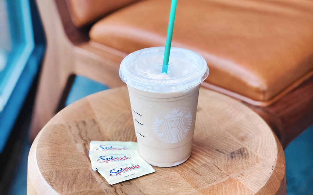 starbucks drink with splenda