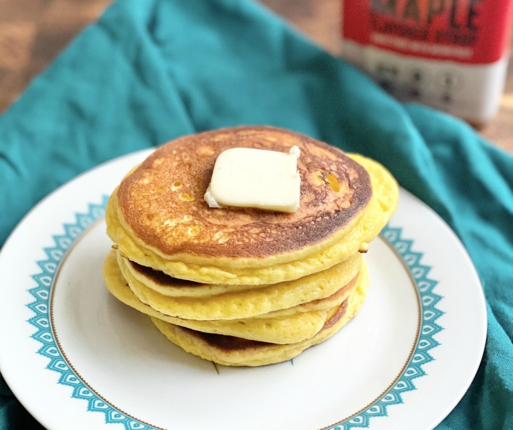 pancakes with lupin flour