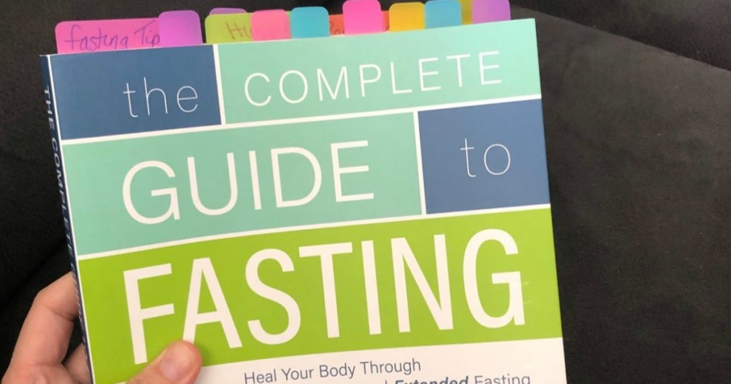 holding the complete guide to fasting book