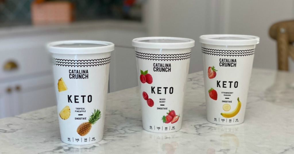 Catalina Crunch keto smoothies