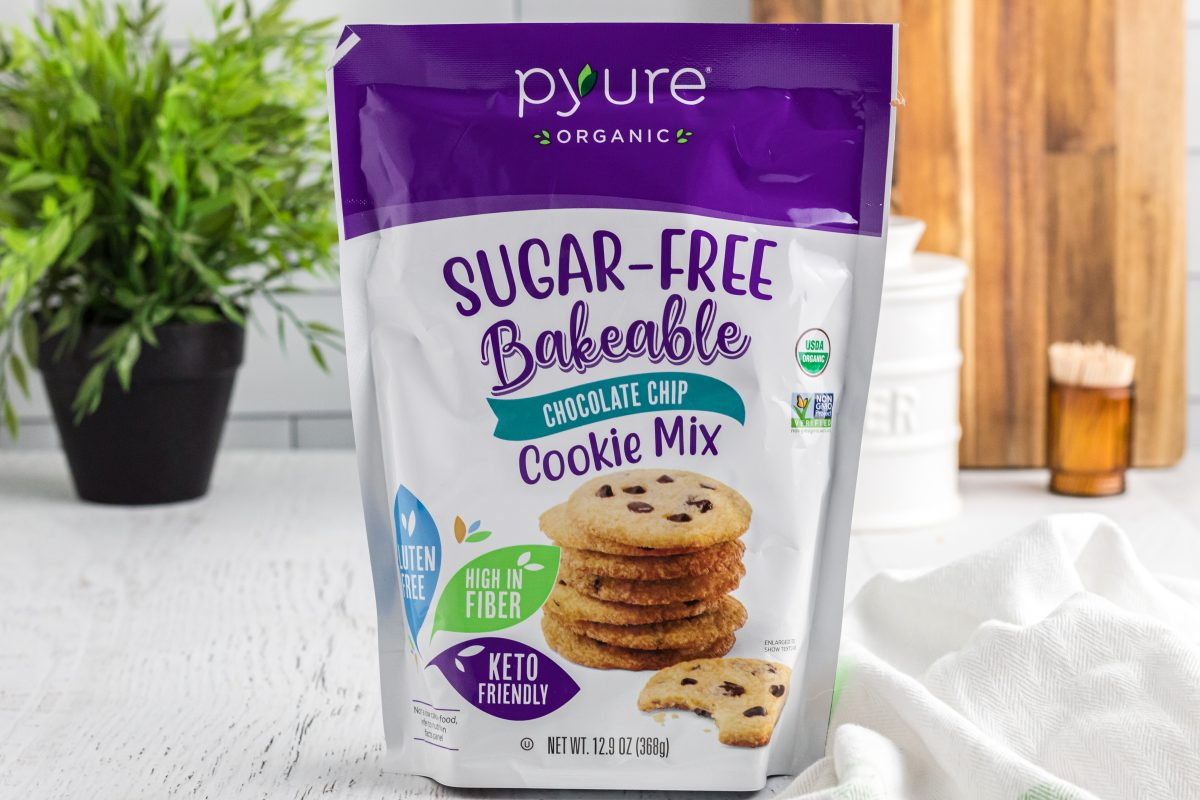 package of bakeable cookies from pyure