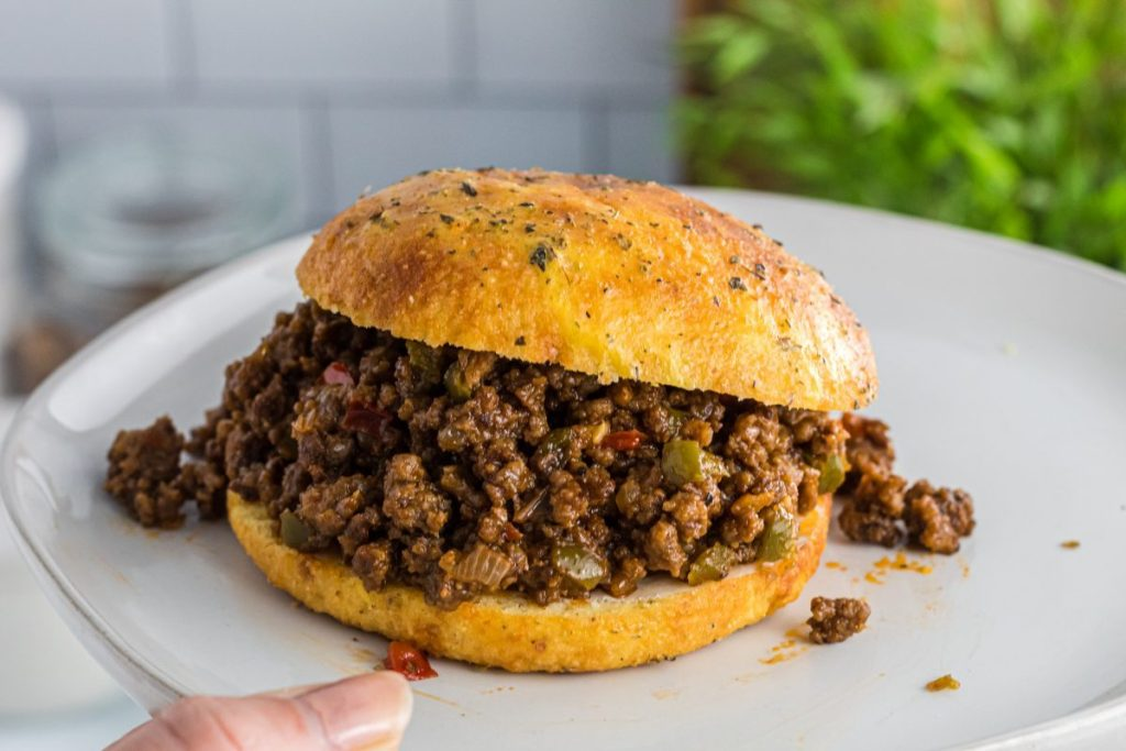 keto sloppy joe's