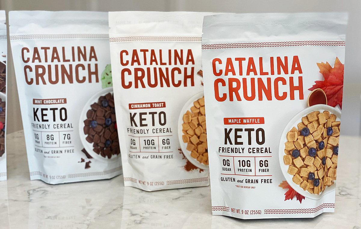 bags of catalina crunch cereal