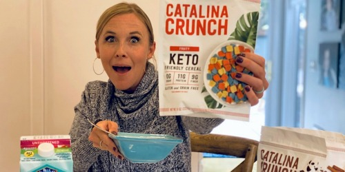 Catalina Crunch Has a New Keto Cereal Flavor… and It's Very Fruity!