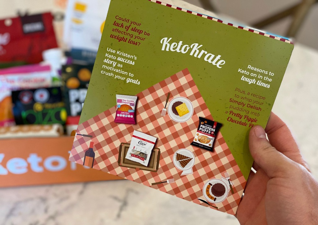 keto krate monthly card