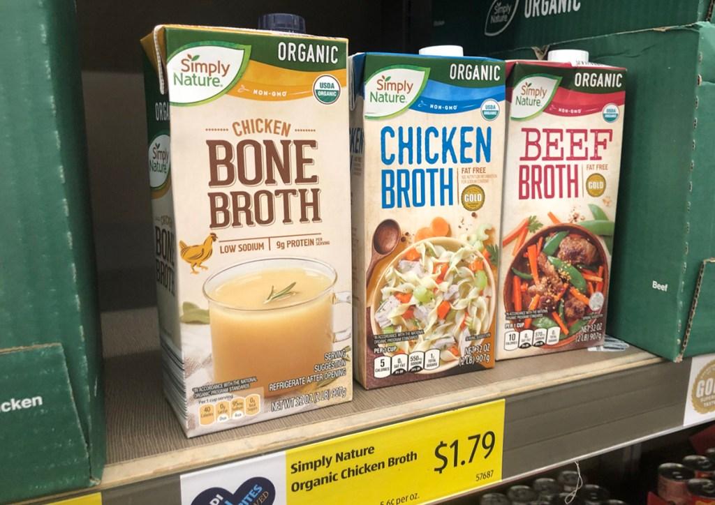 simply nature bone broth
