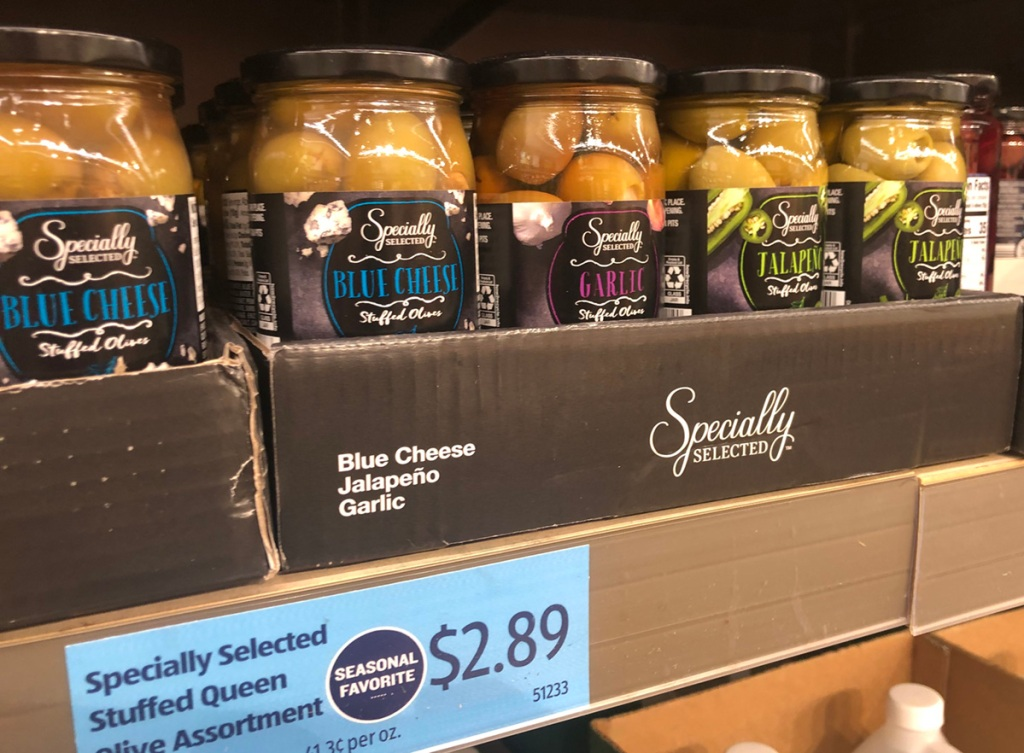 Specially Selected Stuffed Olives