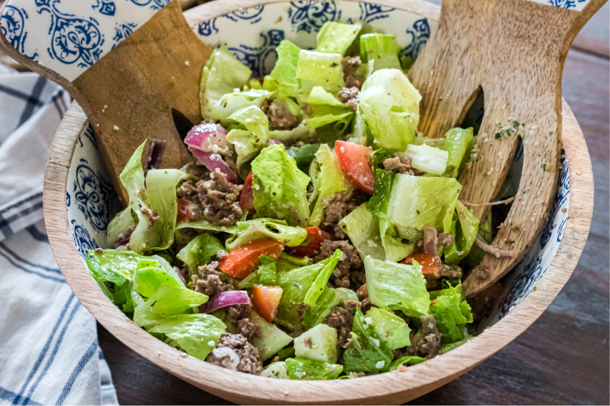 Green Chef keto Steak Salad
