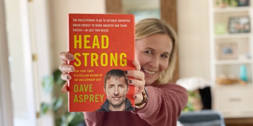 Want a Better Brain & More Productive Life? Read Head Strong by Dave Asprey With Us!