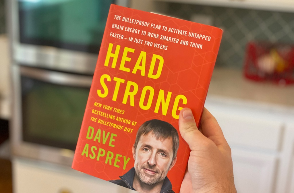 head strong book in hand