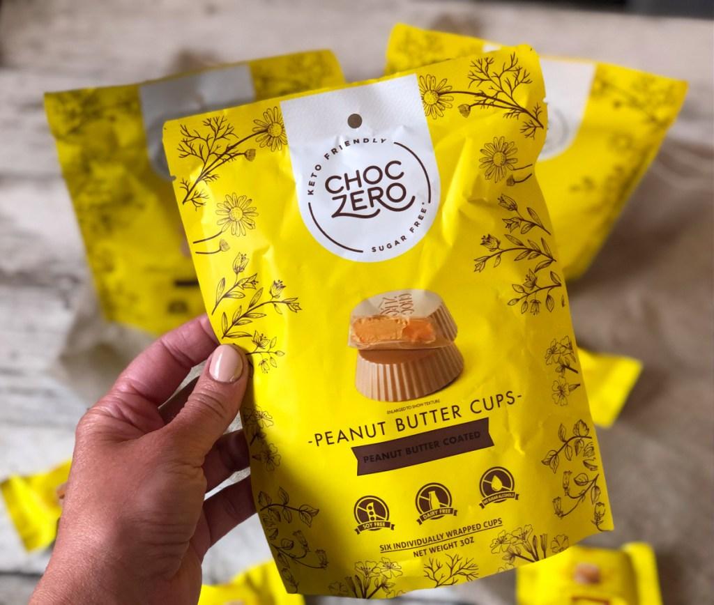 ChocZero Peanut Butter Cups package