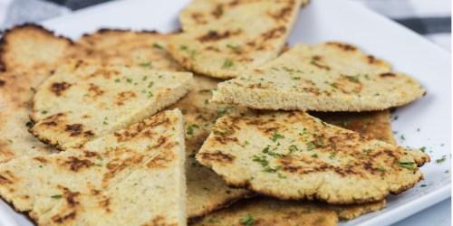 Easy Keto Naan Bread