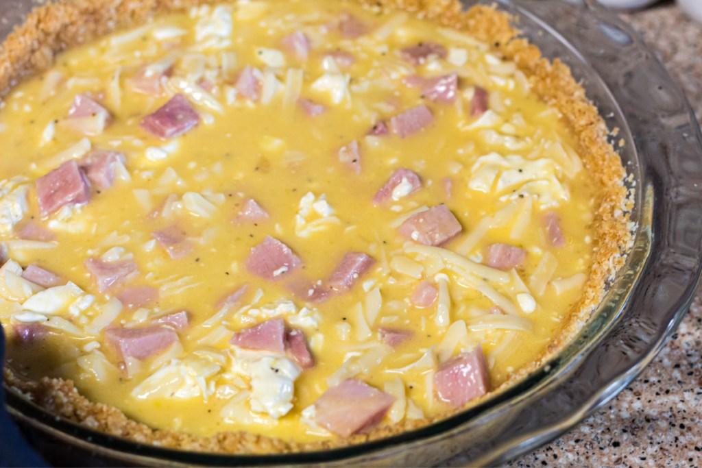 uncooked keto carnivore quiche