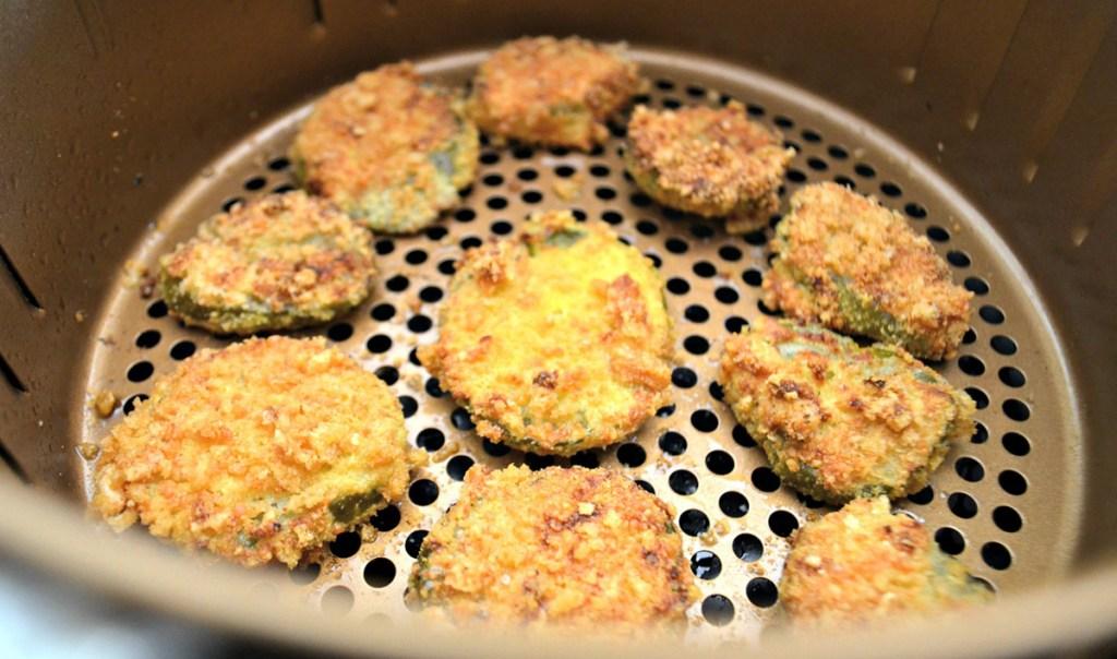 keto air fryer pickles cooking