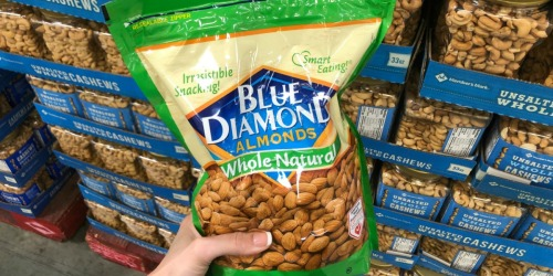 Huge 40oz Bag of Blue Diamond Almonds ONLY $10.98 (Awesome Keto Snack Deal!)