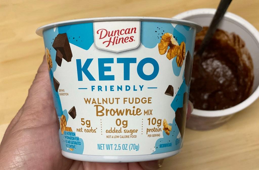 duncan hines keto brownie cup