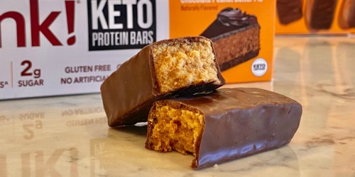 WARNING – These Keto Chocolate Peanut Butter Pie Protein Bars are Addicting.
