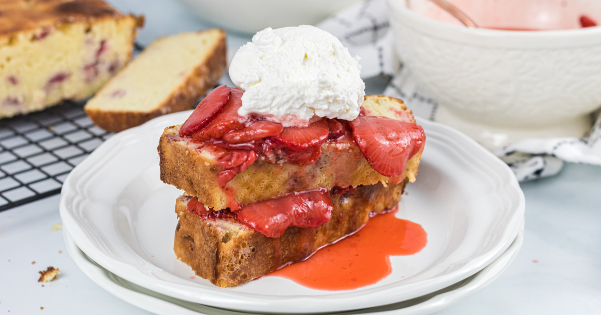 Keto Strawberry Shortcake with Strawberry-Infused Pound Cake [+ How-To Video]