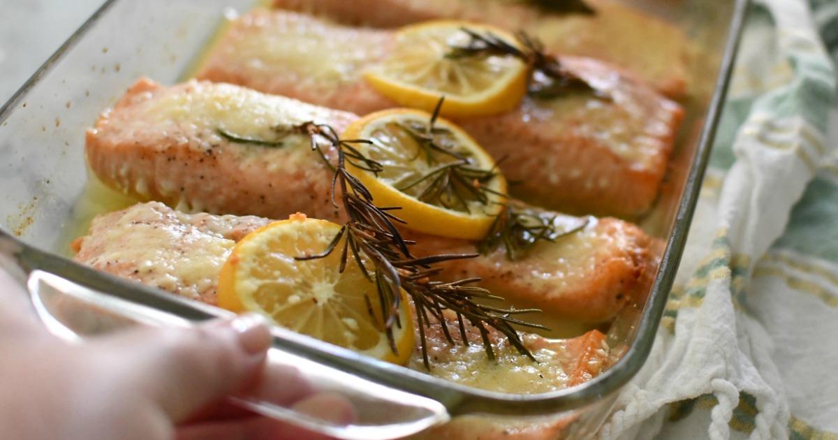 No-Fail Oven Baked Salmon