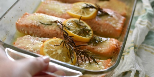 No-Fail Oven Baked Salmon