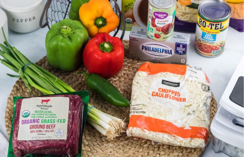 ingredients for keto casserole