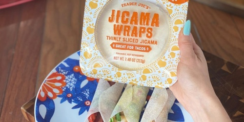 Trader Joe's Low-Carb Jicama Wraps (Our New Keto BFF)