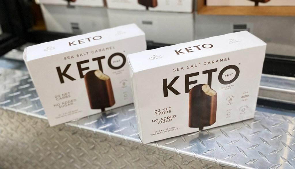 keto ice cream bars at costco