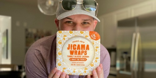 Trader Joe's Low Carb Jicama Wraps (Our New Keto BFF)